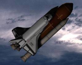 Trasbordador espacial 3d, en Aeronaves en 3d – Medios de transporte