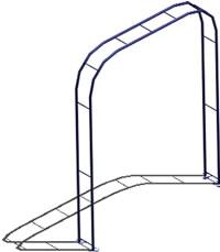 Planos de Treille 3d, en Juegos infantiles – Equipamiento urbano
