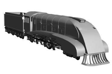 Tren 3d, en Ferrocarriles – Medios de transporte