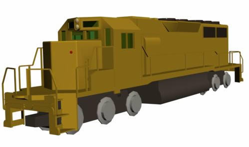 Tren de carga, en Ferrocarriles – Medios de transporte