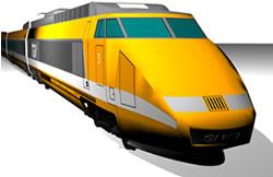 Tren rápido, en Ferrocarriles – Medios de transporte