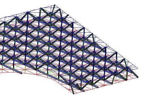 imagen Tridilosa 3d, en Cubiertas de acero y vidrio - Sistemas constructivos