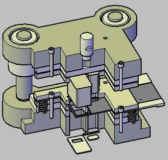 Planos de Troquel para fabricar un destapador, en Maquinaria e instalaciones industriales – Máquinas instalaciones