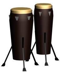 Tumbadora 3d, en Instrumentos musicales – Muebles equipamiento