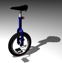 imagen Uniciclo 3d, en Motos y bicicletas - Medios de transporte