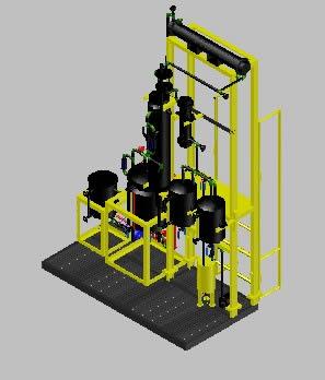 Planos de Unidad de reaccion multiproposito, en Maquinaria para industria de la alimentación – Máquinas instalaciones