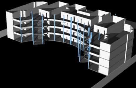 imagen Universidad cesar vallejo 3d, en Obras famosas - Proyectos