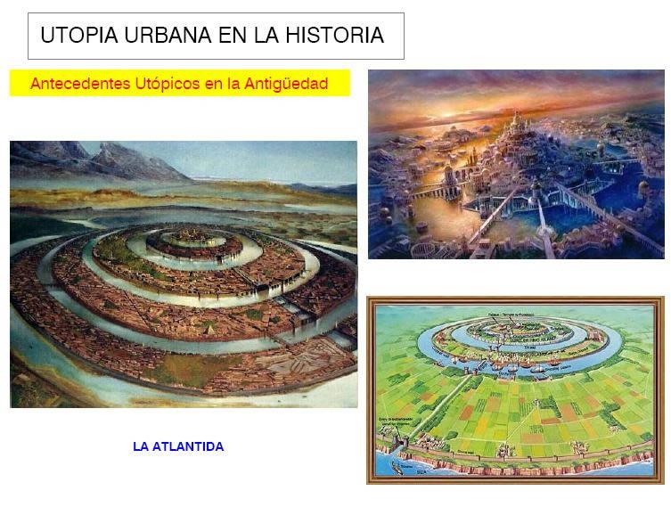 Planos de Utopias urbanas, en Monografías – Historia