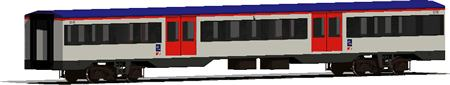 Planos de Vagón ferrocarril, en Ferrocarriles – Medios de transporte