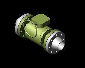 Planos de Valbula a pulg bola 600 lbs, en Provisión de gas – Instalaciones
