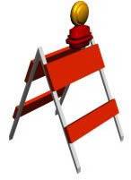 imagen Valla de proteccíon 3d, en Seguridad en obras - Obradores