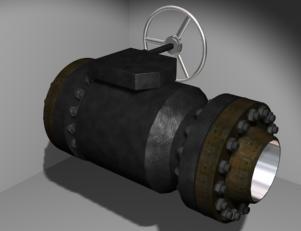imagen Valvula bridada de 10, en Válvulas tubos y piezas - Máquinas instalaciones