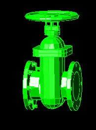 imagen Valvula de 8 de diam. en 3d, en Válvulas tubos y piezas - Máquinas instalaciones