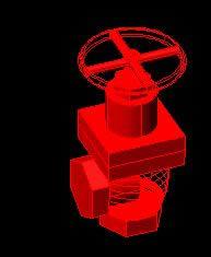 Planos de Valvula de angulo 2 n.p.t., en Válvulas tubos y piezas – Máquinas instalaciones