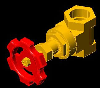 imagen Válvula de compuerta, en Tubos y elementos de pvc - ppn - fofo - etc - Sanitarios