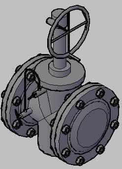 Planos de Valvula de doble sello y purga, en Válvulas tubos y piezas – Máquinas instalaciones