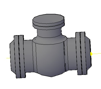 Planos de Válvula de retención check, en Válvulas tubos y piezas – Máquinas instalaciones