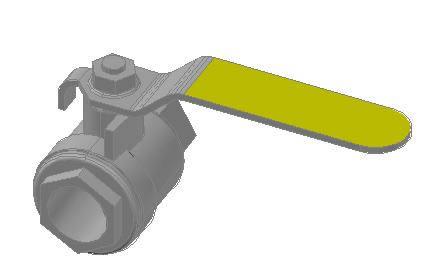 Planos de Valvula inox 1, en Válvulas tubos y piezas – Máquinas instalaciones