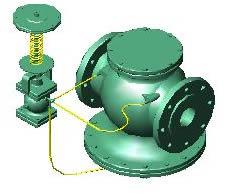 Planos de Valvula raguladora 3, en Válvulas tubos y piezas – Máquinas instalaciones