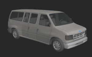 Van ford 3d, en Utilitarios – Medios de transporte