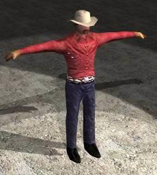 Vaquero 3d, en 3d – Personas