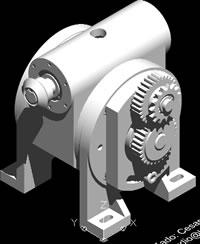 Planos de Variador de velocidad con diferencial, en Maquinaria – proyectos varios – Máquinas instalaciones