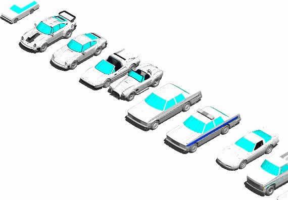 Planos de Vehiculos 3d, en Automóviles en 3d – Medios de transporte