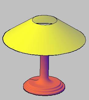 Planos de Velador 3d, en Luminarias – Muebles equipamiento