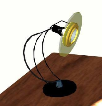 Planos de Velador de escritorio 3d, en Luminarias – Electricidad iluminación