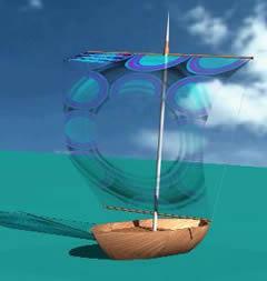 Planos de Velero 3d, en Embarcaciones – Medios de transporte
