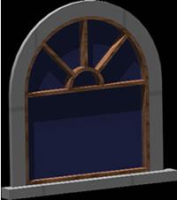imagen Ventana 3d con arco, en Ventanas 3d - Aberturas