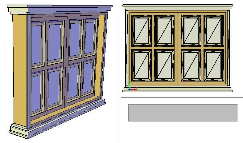 imagen Ventana 3d, en Ventanas 3d - Aberturas