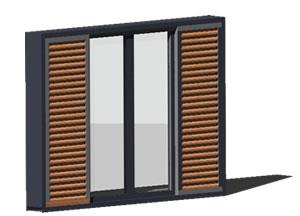 Planos de Ventana  de aluminio 3d, en Ventanas 3d – Aberturas