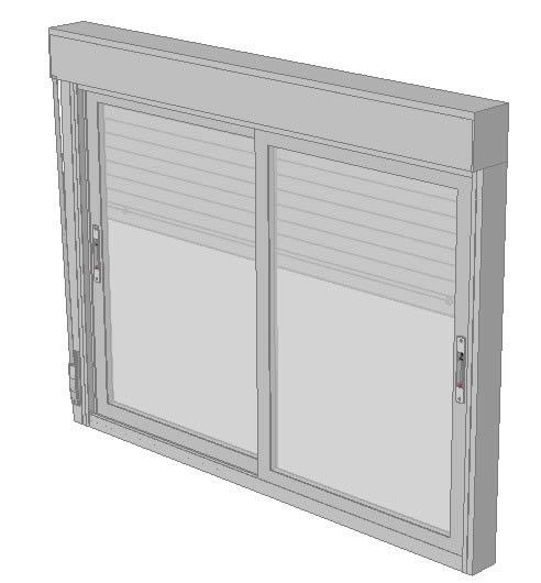 imagen Ventana de aluminio, en Ventanas 3d - Aberturas