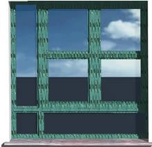 imagen Ventana en 3d  - vidrio repartido -  150 x 150, en Ventanas 3d - Aberturas
