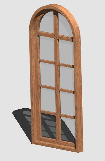 Planos de Ventana madera – 3d – 000, en Ventanas 3d – Aberturas