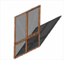 Planos de Ventana-mirador 190×255, en Ventanas 3d – Aberturas
