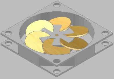 Planos de Ventilador 3d, en Ventilación – Instalaciones
