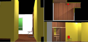 Planos de Vestidor 3d, en Muebles varios – Muebles equipamiento