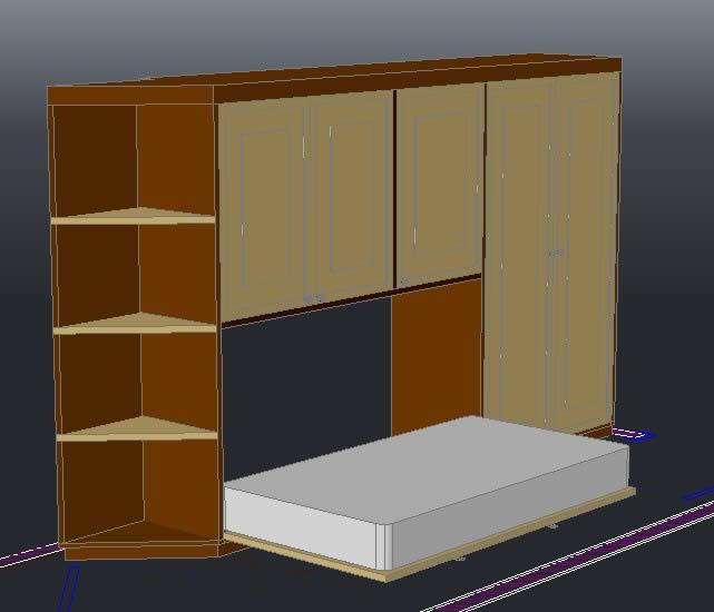 imagen Vestidor, en Estanterías y modulares - Muebles equipamiento