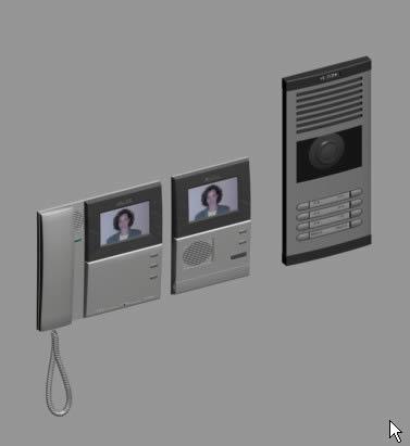 Videoportero 3d, en Informática – Muebles equipamiento