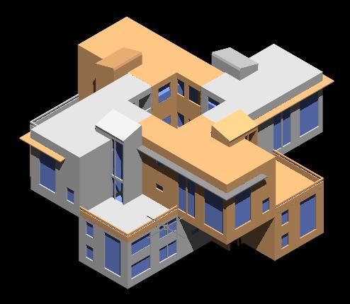 Planos de Viivenda 3d, en Vivienda unifamiliar 3d – Proyectos