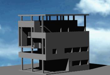 imagen Villa baizeau 3d, en Obras famosas - Proyectos