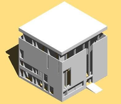imagen Villa shodan 3d, en Obras famosas - Proyectos
