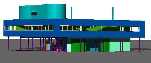 Planos de Ville savoye 3d, en Obras famosas – Proyectos
