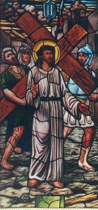 Vitral pasion de jesus, en Arq. religiosa – Proyectos