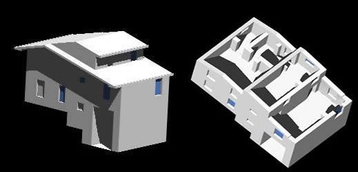 Planos de Vivenda en adobe, en Vivienda unifamiliar 3d – Proyectos