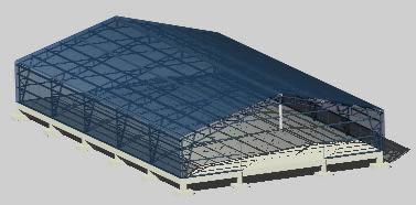 Planos de Vivero 3d, en Arq. bioclimática – Proyectos