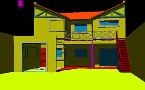 Planos de Vivienda 3 dormitorios -3d, en Vivienda unifamiliar 3d – Proyectos