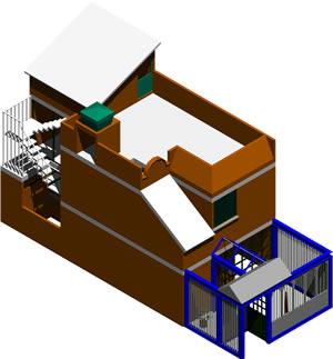 Planos de Vivienda 3d amueblada, en Vivienda unifamiliar 3d – Proyectos